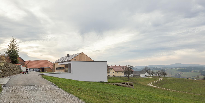 Architekturfotografie, Architekturwerkstatt Haderer, Wohnhaus BAC, Architekturfotograf Erich Sinzinger