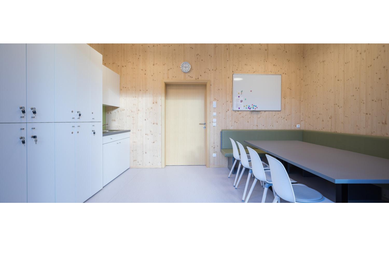 Architekturfotografie, Kindergarten Traun Dornstädter Architekten, Architekturfotograf Erich Sinzinger
